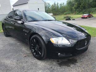 2009 Maserati Quattroporte for sale at FUSION AUTO SALES in Spencerport NY