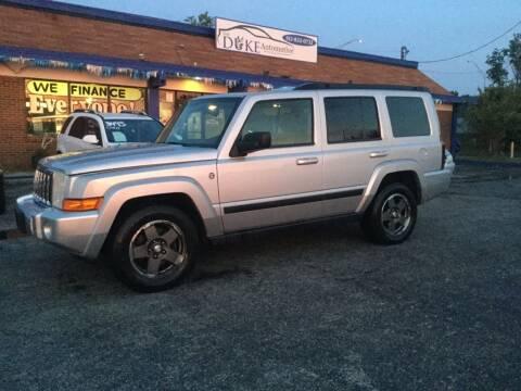 2008 Jeep Commander for sale at Duke Automotive Group in Cincinnati OH