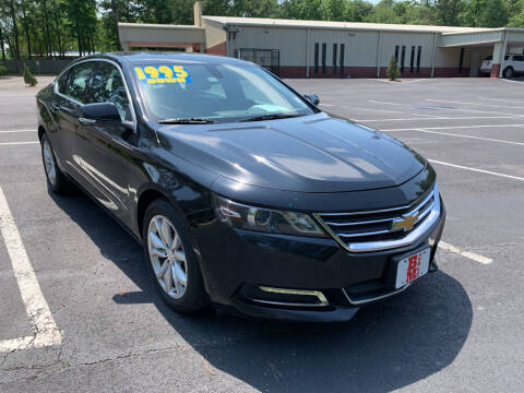 2018 Chevrolet Impala for sale at B & M Car Co in Conroe TX