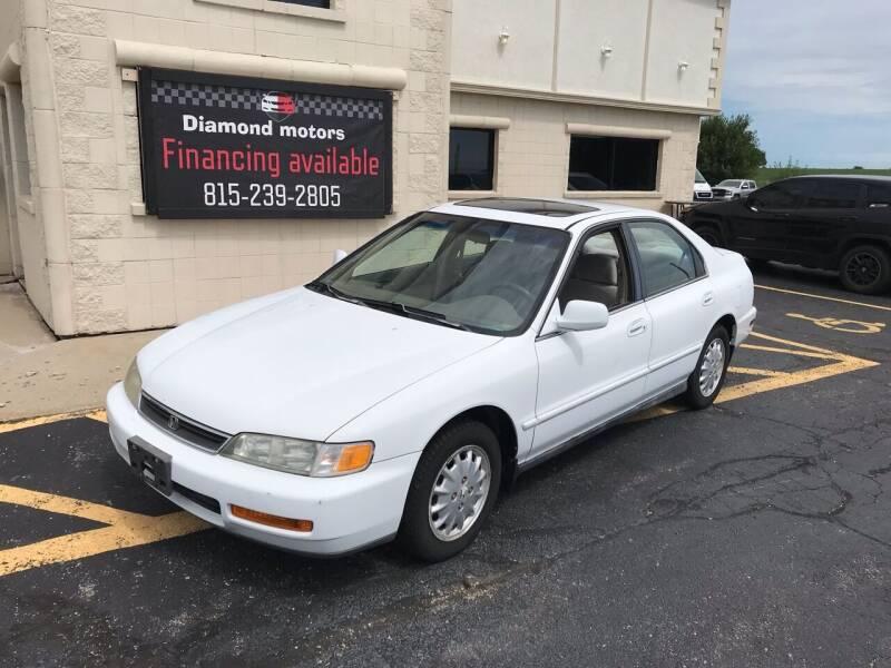 1997 Honda Accord for sale at Diamond Motors in Pecatonica IL