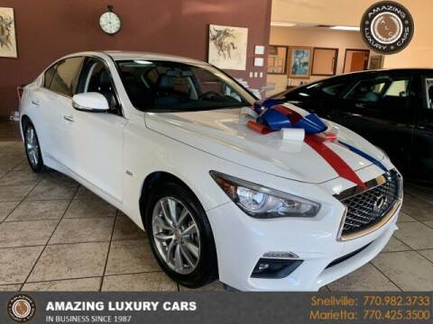 2018 Infiniti Q50 for sale at Amazing Luxury Cars in Snellville GA