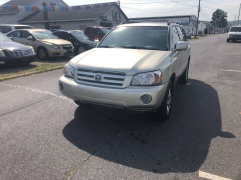 2007 Toyota Highlander for sale at 25TH STREET AUTO SALES in Easton PA