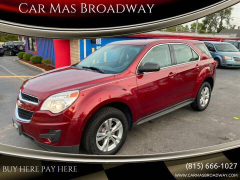 2010 Chevrolet Equinox for sale at Car Mas Broadway in Crest Hill IL