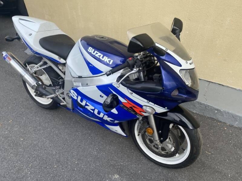 2001 Suzuki GSX-R600 for sale at Limitless Garage Inc. in Rockville MD