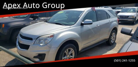 2013 Chevrolet Equinox for sale at Apex Auto Group in Cabot AR