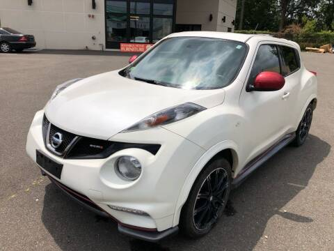 2014 Nissan JUKE for sale at MAGIC AUTO SALES in Little Ferry NJ