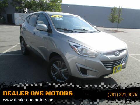 2015 Hyundai Tucson for sale at DEALER ONE MOTORS in Malden MA