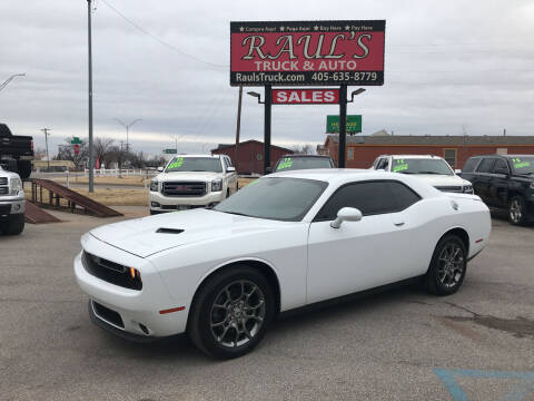 2017 Dodge Challenger for sale at RAUL'S TRUCK & AUTO SALES, INC in Oklahoma City OK