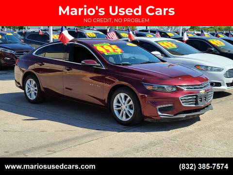 2016 Chevrolet Malibu for sale at Mario's Used Cars in Houston TX