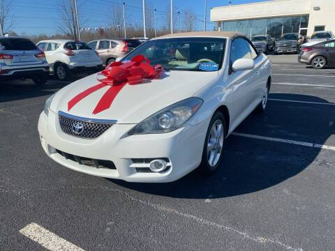 2008 Toyota Camry Solara for sale at Charlotte Auto Group, Inc in Monroe NC