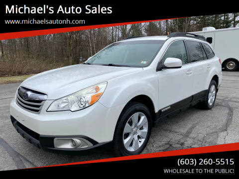 2011 Subaru Outback for sale at Michael's Auto Sales in Derry NH