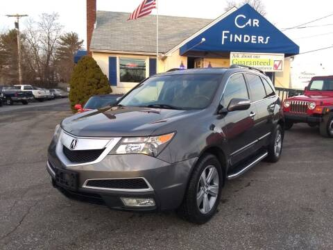 2011 Acura MDX for sale at CAR FINDERS OF MARYLAND LLC in Eldersburg MD