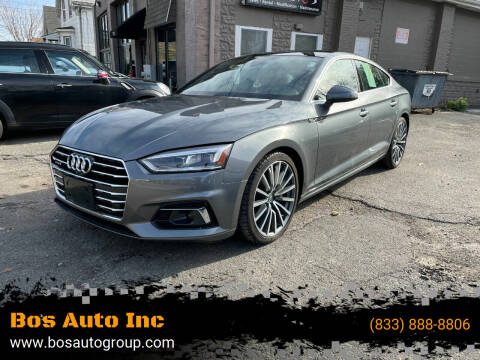 2018 Audi A5 Sportback for sale at Bos Auto Inc in Quincy MA