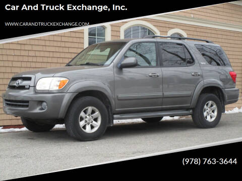 2007 Toyota Sequoia for sale at Car and Truck Exchange, Inc. in Rowley MA