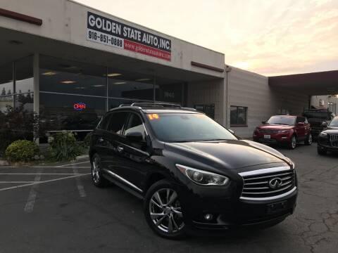 2014 Infiniti QX60 Hybrid for sale at Golden State Auto Inc. in Rancho Cordova CA