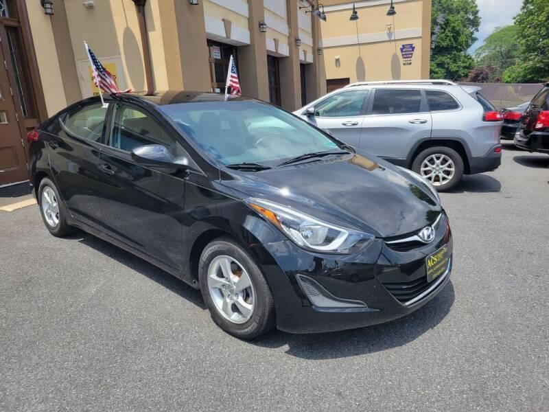 2014 Hyundai Elantra for sale at ACS Preowned Auto in Lansdowne PA