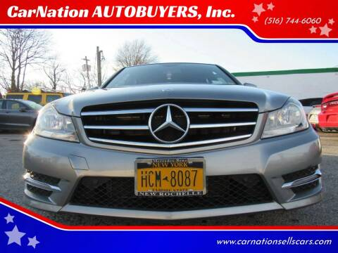 2014 Mercedes-Benz C-Class for sale at CarNation AUTOBUYERS, Inc. in Rockville Centre NY