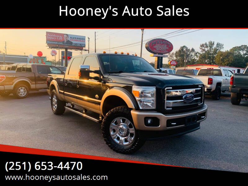 2014 Ford F-250 Super Duty for sale at Hooney's Auto Sales in Theodore AL