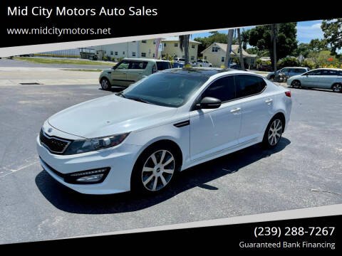 2012 Kia Optima for sale at Mid City Motors Auto Sales in Fort Myers FL