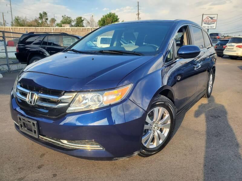 2014 Honda Odyssey for sale at LA Motors LLC in Denver CO