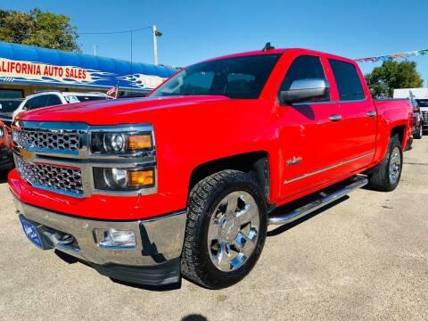 2015 Chevrolet Silverado 1500 for sale at California Auto Sales in Amarillo TX
