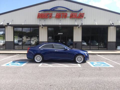 2013 Cadillac ATS for sale at DOUG'S AUTO SALES INC in Pleasant View TN