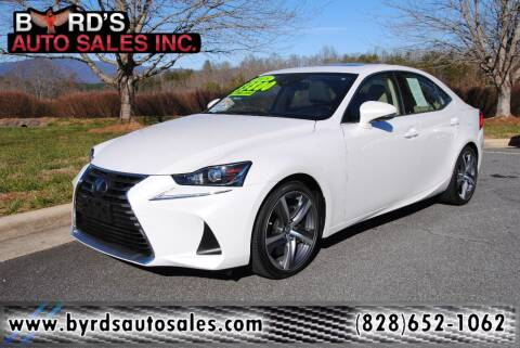 2018 Lexus IS 300 for sale at Byrds Auto Sales in Marion NC