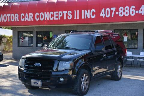 2008 Ford Expedition for sale at Motor Car Concepts II - Kirkman Location in Orlando FL