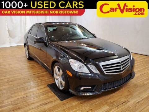 2011 Mercedes-Benz E-Class for sale at Car Vision Buying Center in Norristown PA