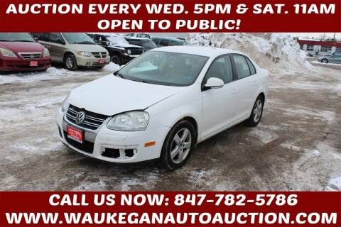 2009 Volkswagen Jetta for sale at Waukegan Auto Auction in Waukegan IL