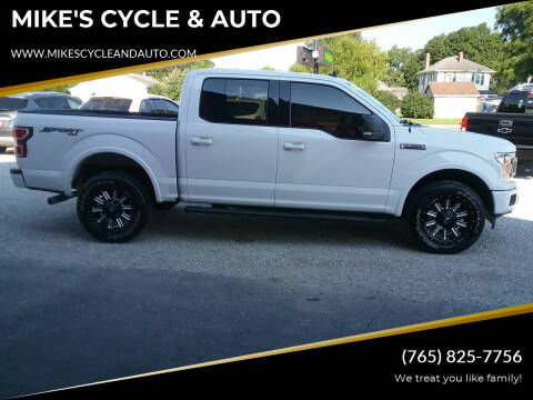 2019 Ford F-150 for sale at MIKE'S CYCLE & AUTO in Connersville IN