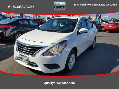 2017 Nissan Versa for sale at QUALITY AUTO FINDER in San Diego CA
