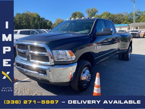 2018 RAM Ram Pickup 3500 for sale at Impex Auto Sales in Greensboro NC