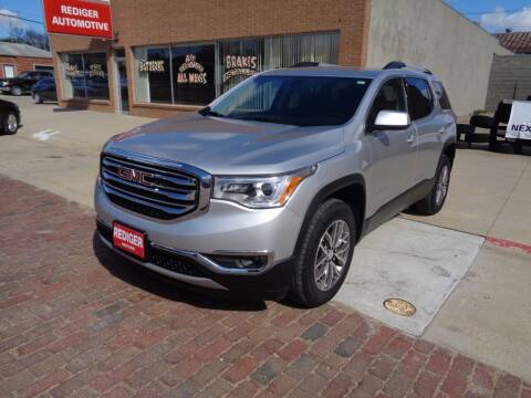 2019 GMC Acadia for sale at Rediger Automotive in Milford NE