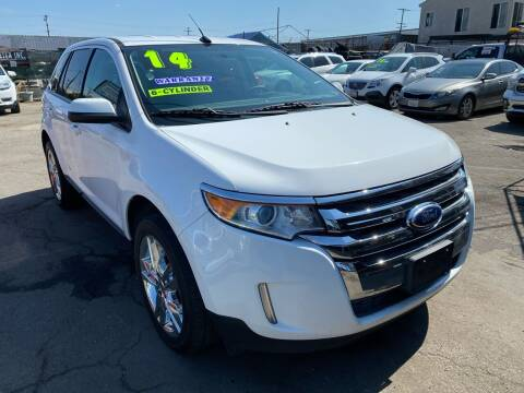 2014 Ford Edge for sale at CAR GENERATION CENTER, INC. in Los Angeles CA