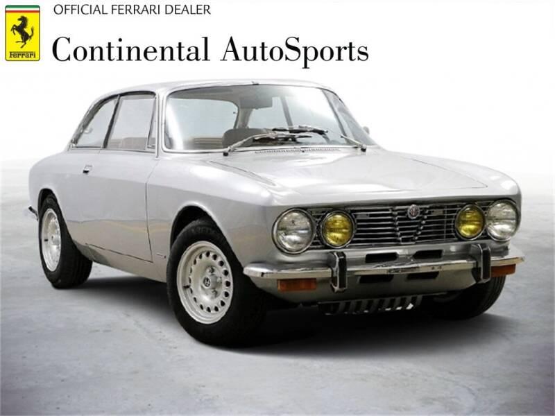 1974 Alfa Romeo GTV6 for sale at CONTINENTAL AUTO SPORTS in Hinsdale IL