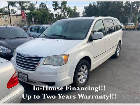 2010 Chrysler Town and Country for sale at Sidney Auto Sales in Downey CA