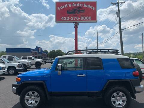 2008 Toyota FJ Cruiser for sale at Ford's Auto Sales in Kingsport TN