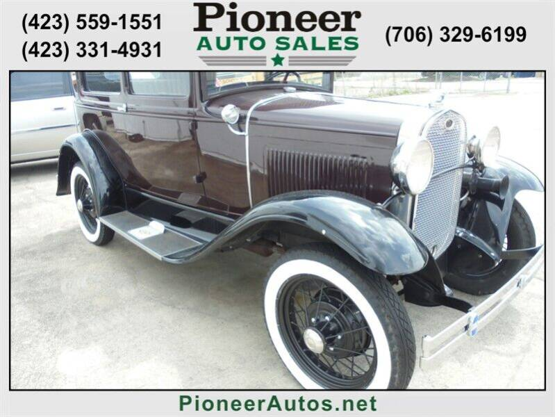 1931 Ford Model A for sale at PIONEER AUTO SALES LLC in Cleveland TN