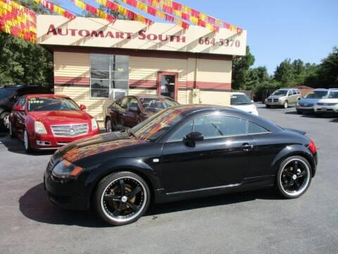 2002 Audi TT for sale at Automart South in Alabaster AL