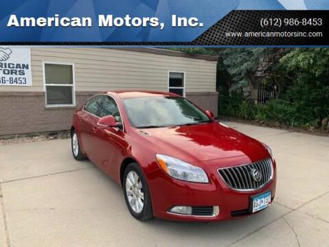 2012 Buick Regal for sale at American Motors, Inc. in Farmington MN