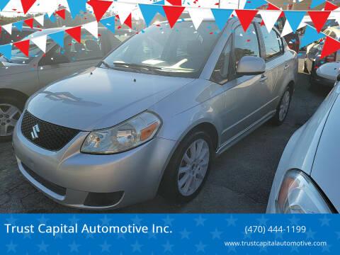 2008 Suzuki SX4 for sale at Trust Capital Automotive Inc. in Covington GA