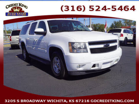 2010 Chevrolet Suburban for sale at Credit King Auto Sales in Wichita KS