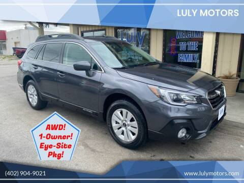 2019 Subaru Outback for sale at Luly Motors in Lincoln NE