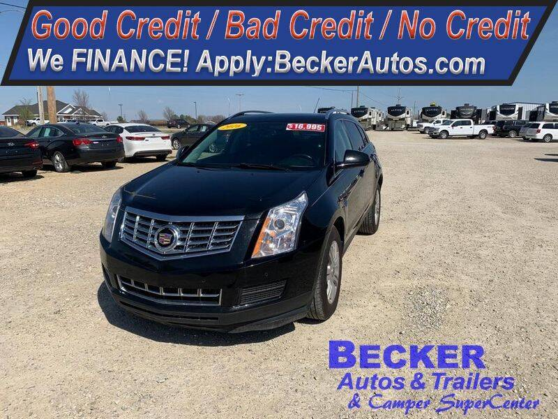 2016 Cadillac SRX for sale at Becker Autos & Trailers in Beloit KS