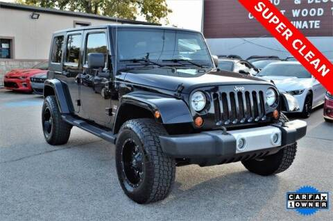 2008 Jeep Wrangler Unlimited for sale at LAKESIDE MOTORS, INC. in Sachse TX