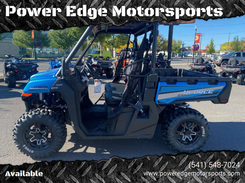 2021 CF Moto UForce 1000 for sale at Power Edge Motorsports in Redmond OR