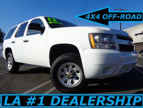 2012 Chevrolet Tahoe for sale at ALL STAR TRUCKS INC in Los Angeles CA