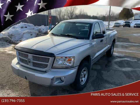 2010 Dodge Dakota for sale at Paris Auto Sales & Service in Big Rapids MI