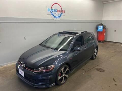 2018 Volkswagen Golf GTI for sale at WCG Enterprises in Holliston MA